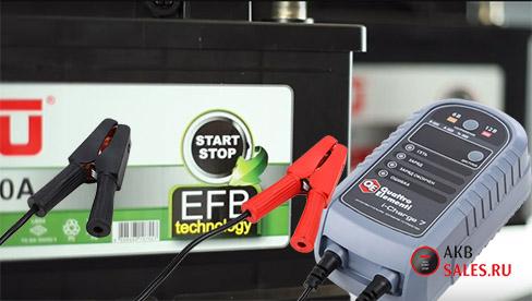 EFB аккумуляторы: что такое, технология, сравнение, как заряжать?